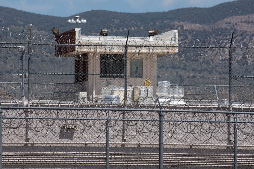The Northern Nevada Correctional Center in Carson City, Nevada