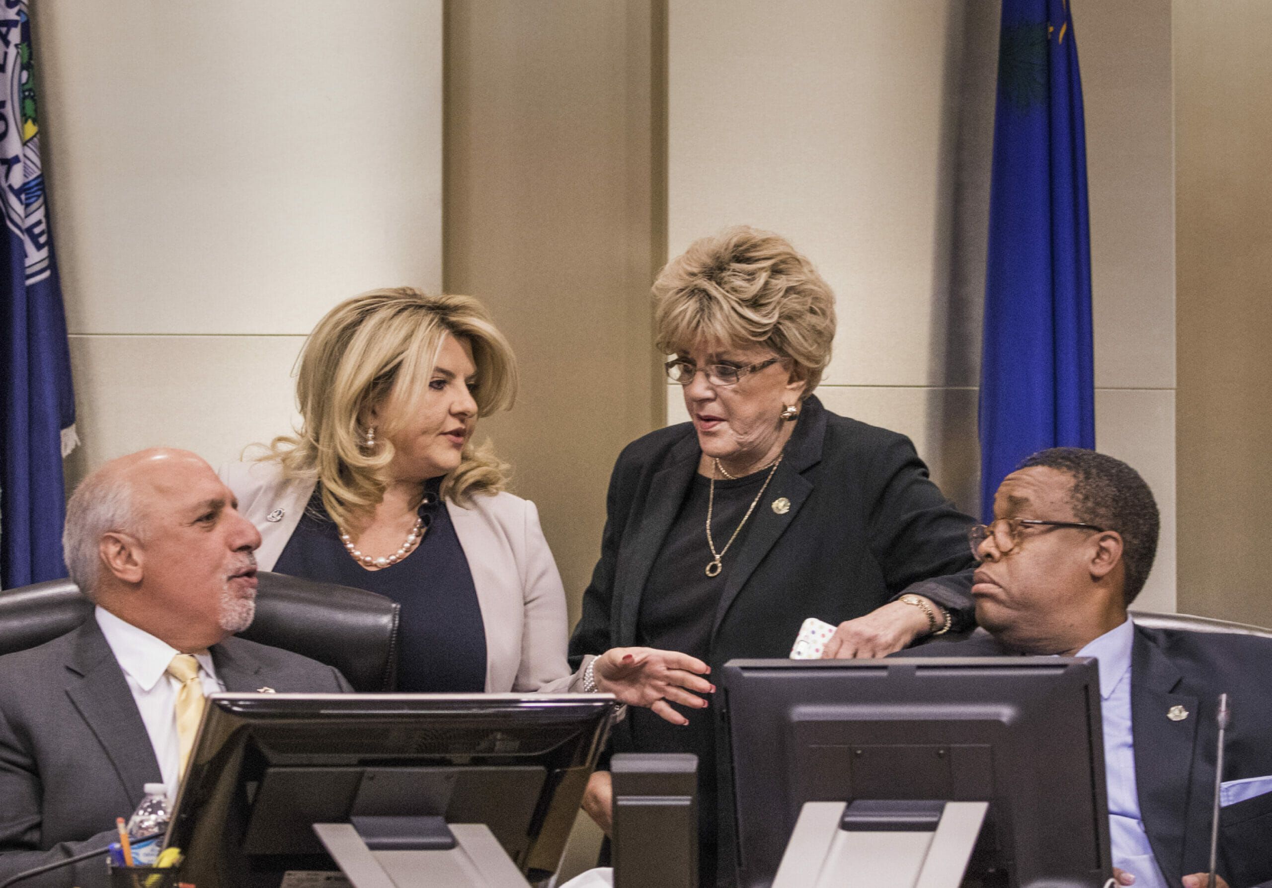Four Vegas council members