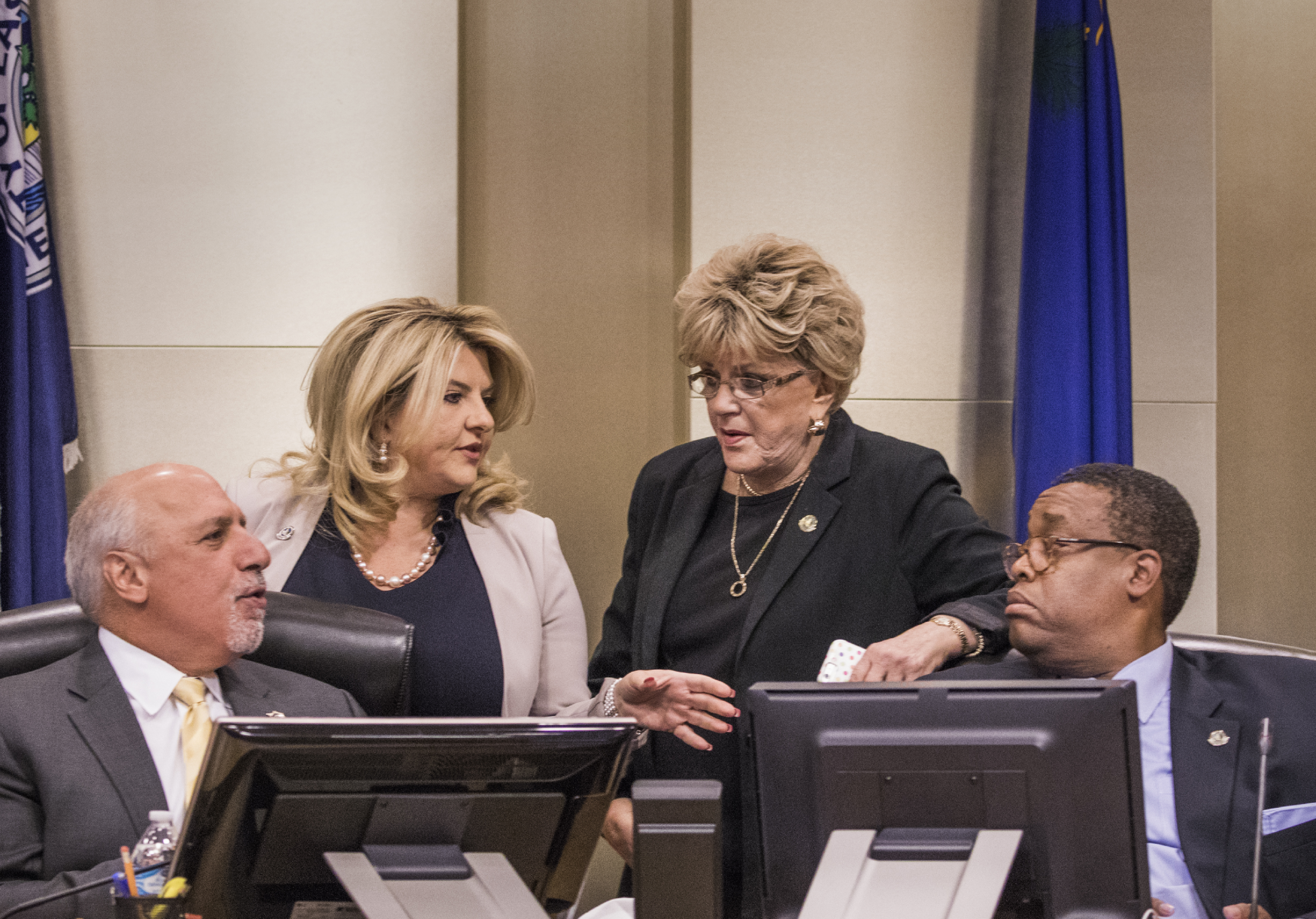 Four Vegas council members