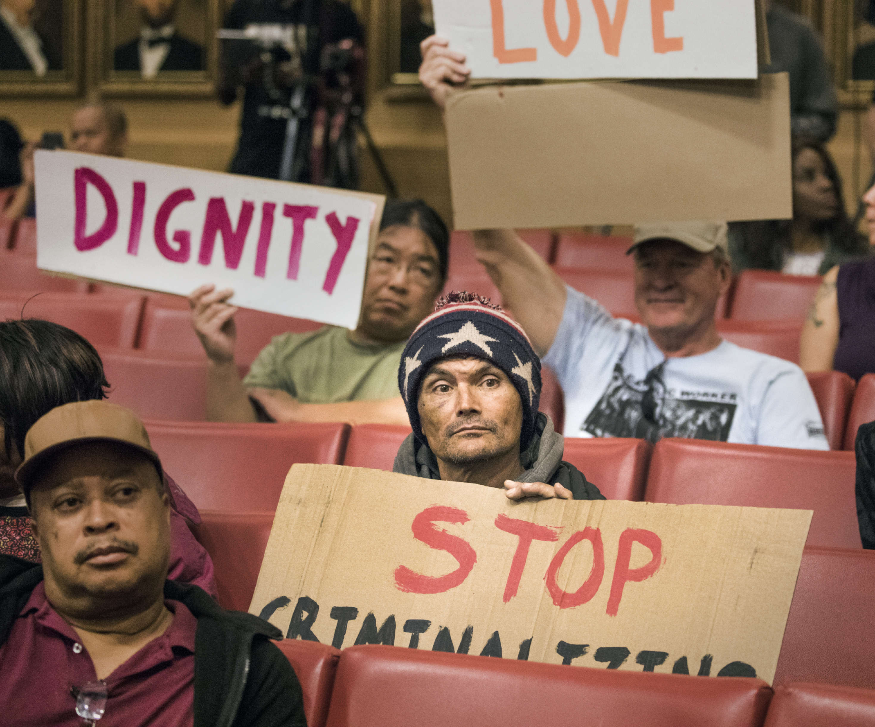 Opponents of Vegas homeless ordinance