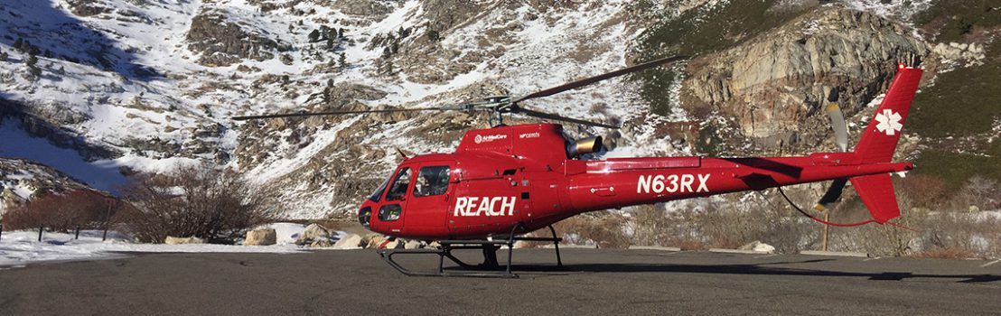 REACH Air Ambulance.