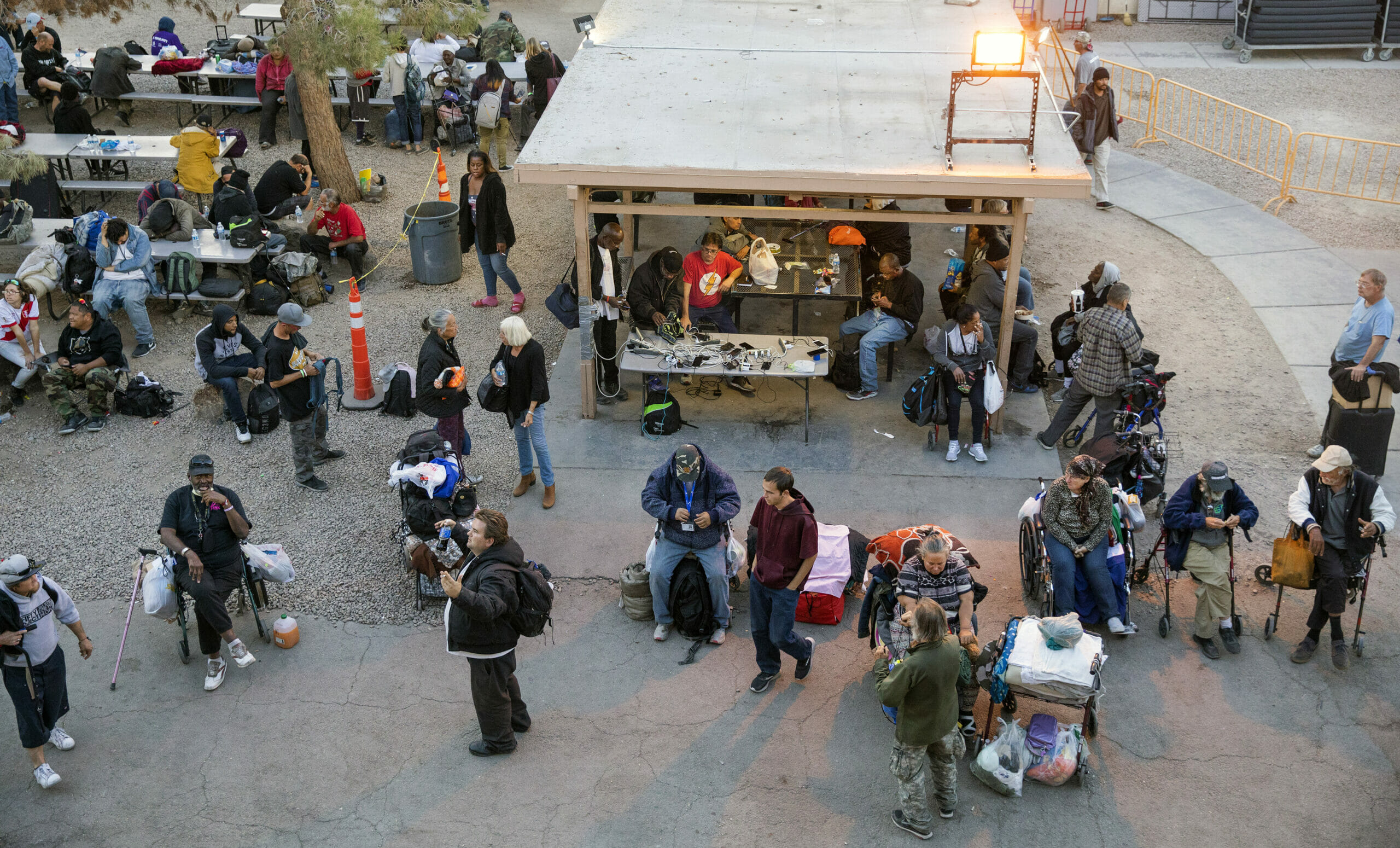 The Courtyard homeless resource center in Las Vegas