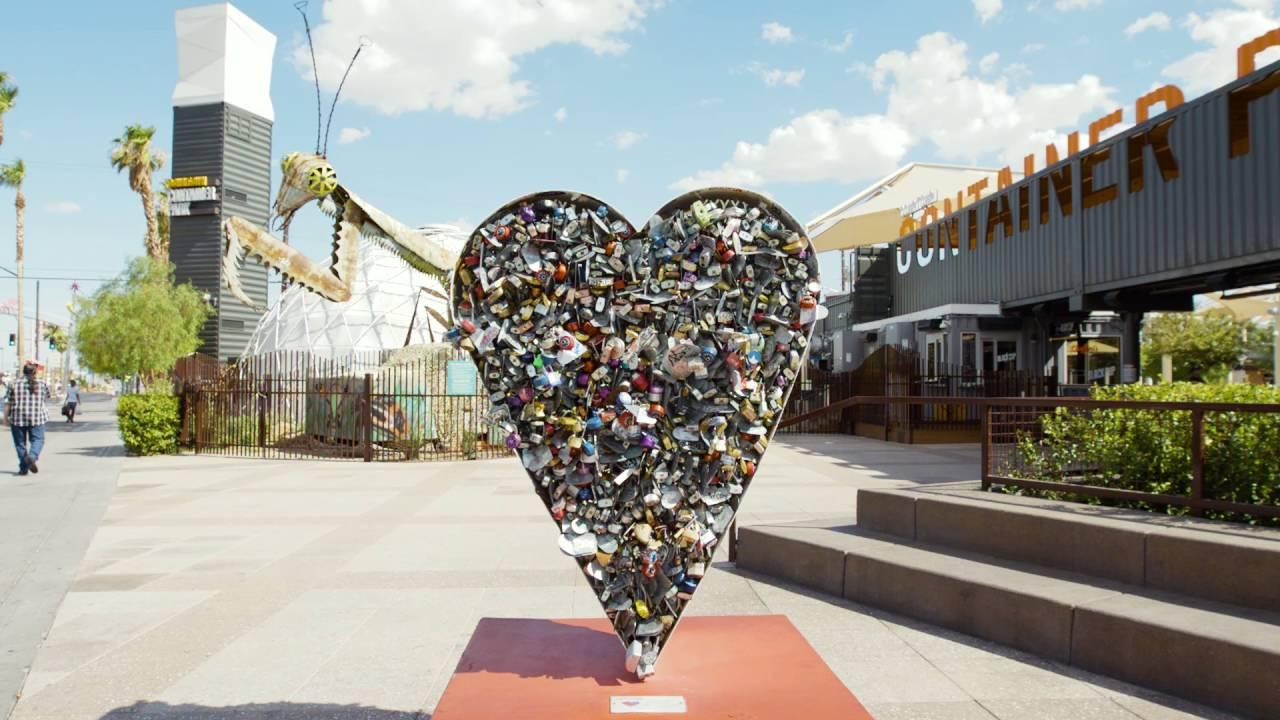 Art Institute installation in downtown Las Vegas