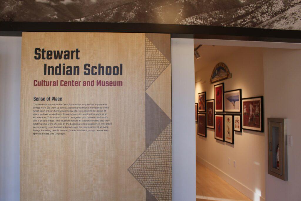 Interior of Stewart Indian School