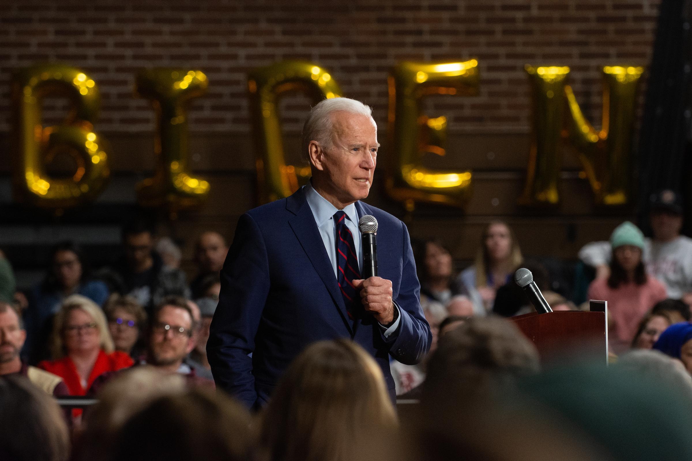 Joe Biden at Sparks rally
