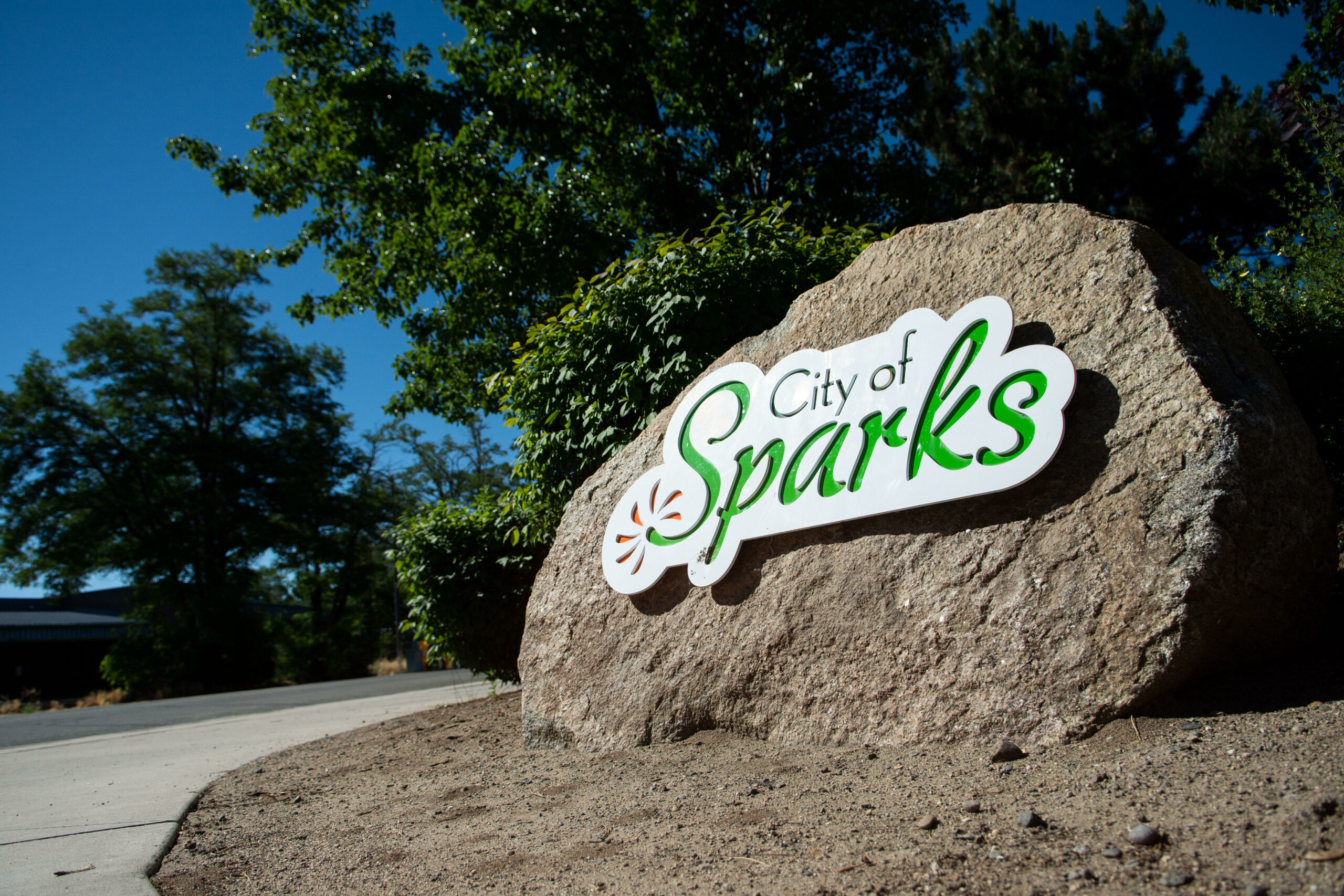 City of Sparks signage