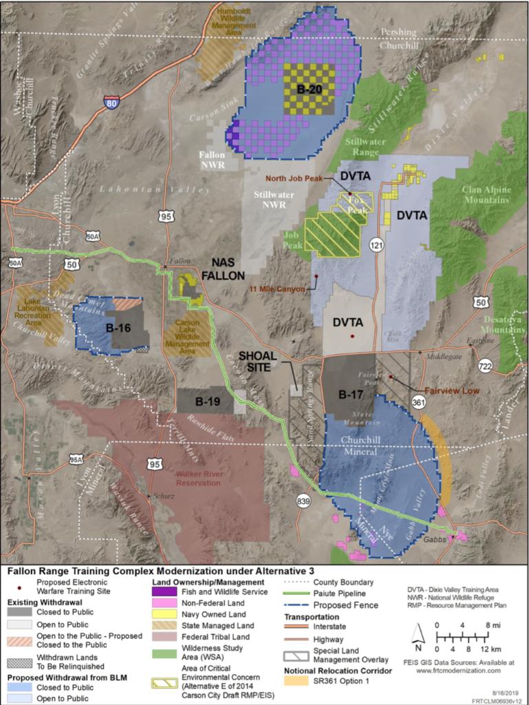 Fallon Expansion Map