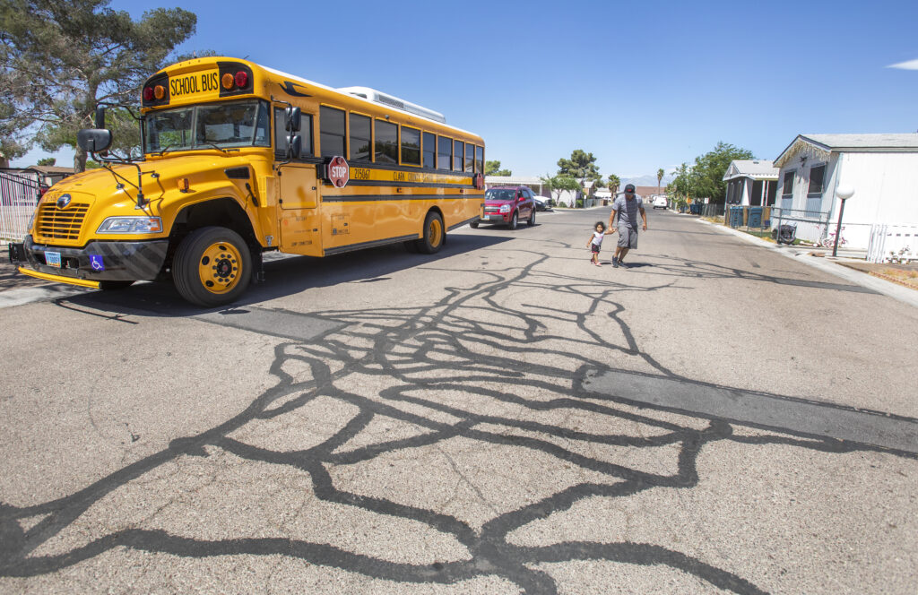 Nevada Interrupted Wifi Enabled Buses Bring Internet To Students Lacking Access At Home