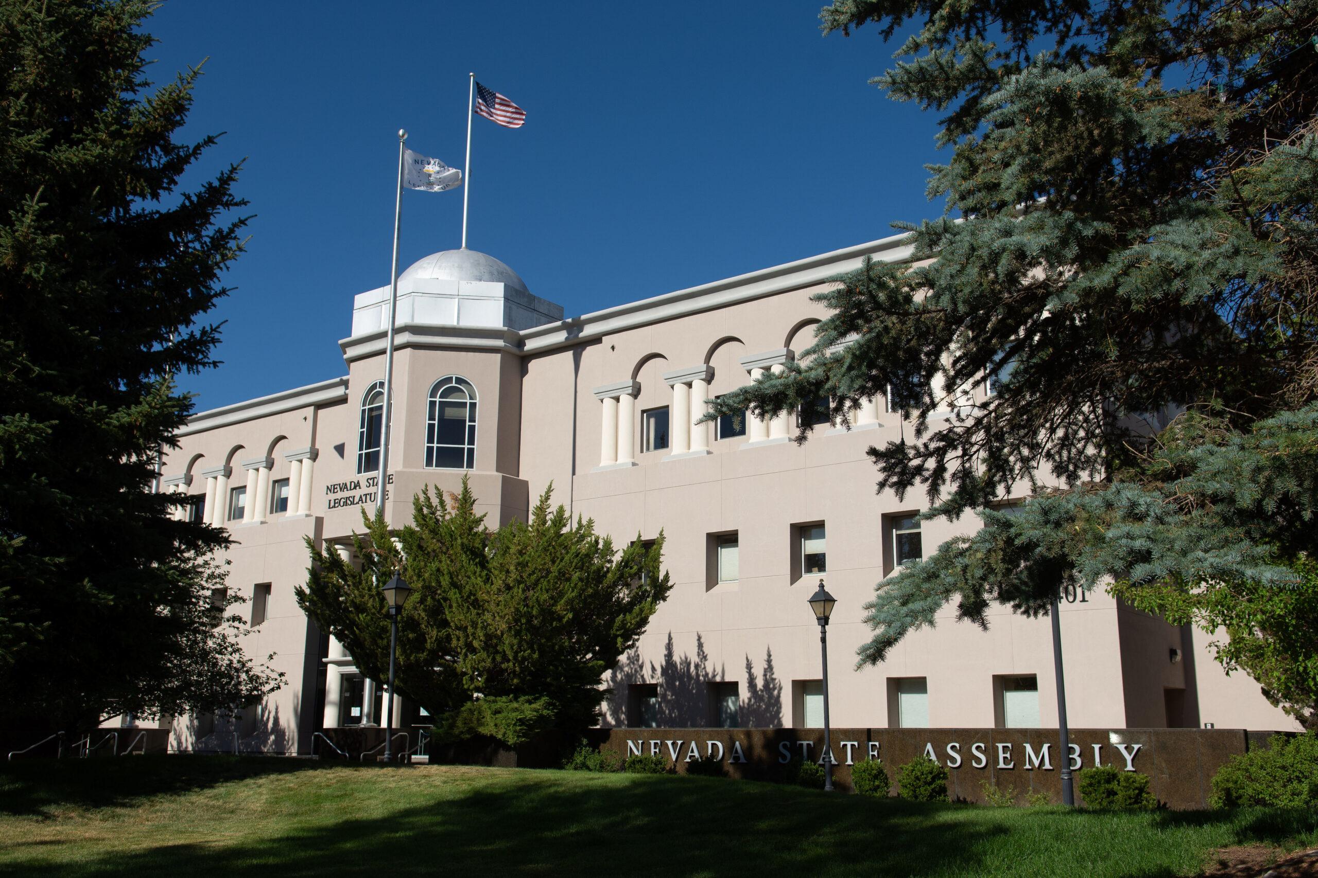 The Nevada Legislature Building