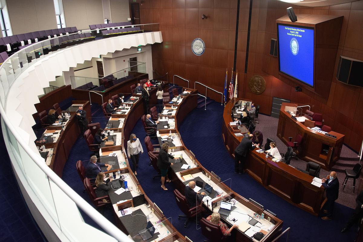 Senate chambers