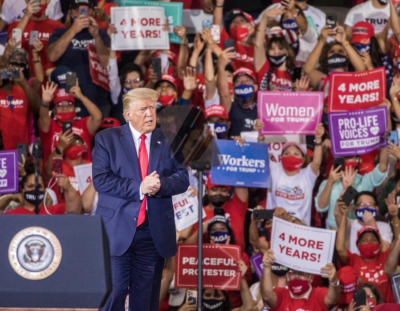 Trump rally in Nevada