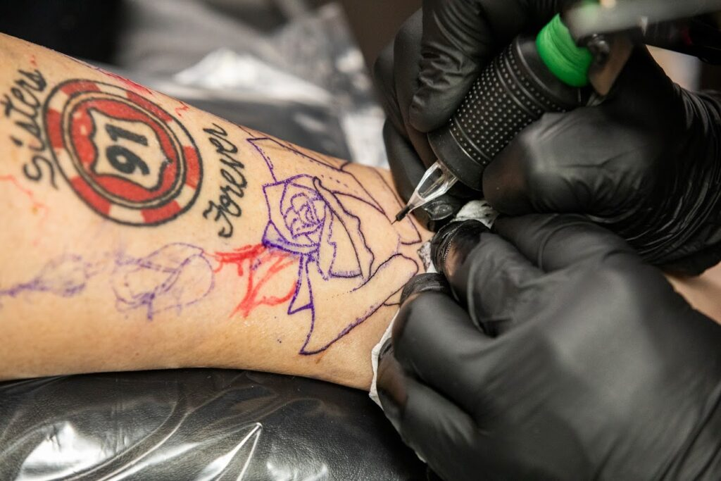 Tattoos Help Route 91 Shooting Survivors Remember And Heal