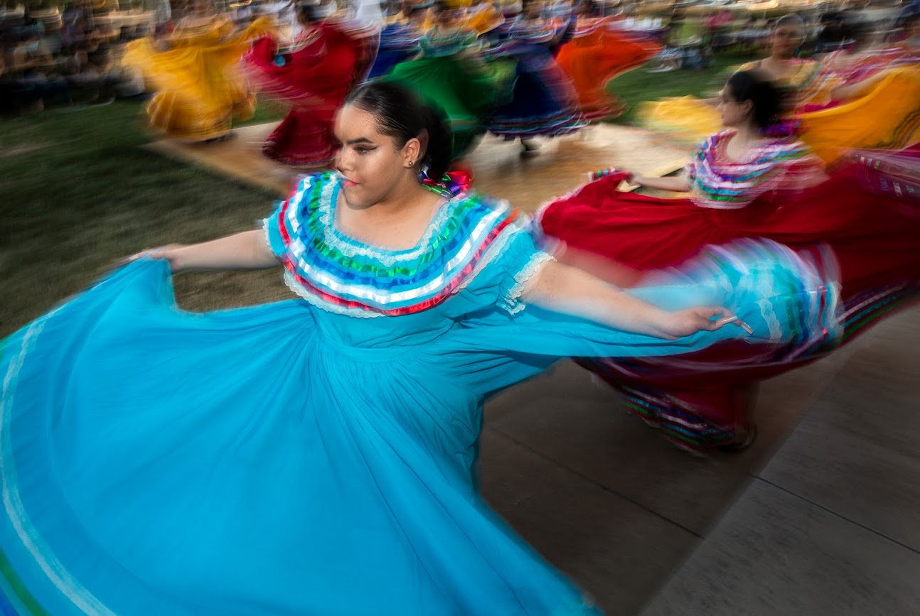 PHOTOS: Nevadans kickstart Hispanic Heritage Month with Mexican Independence Day celebrations - The Nevada Independent