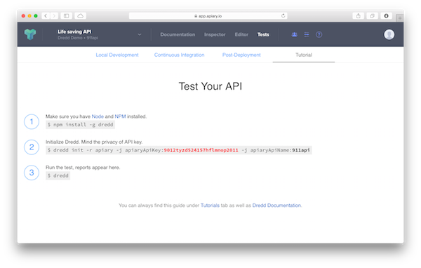 Apiary releases worlds first automated api ci testing service apiary api testing malvernweather Images