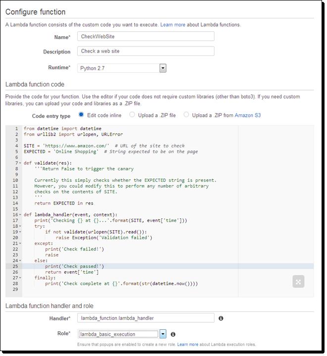 Rocking Lambda with some Python code.