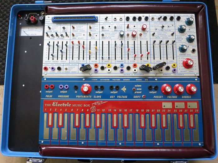 Buchla Music Easel, circa 1973.