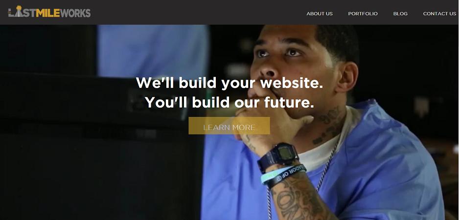 Last Mile Works web site screenshot