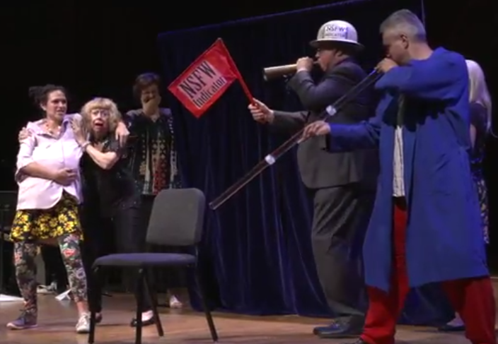 Ig Nobel 2017 - NSFW indicator and didgeridoo player
