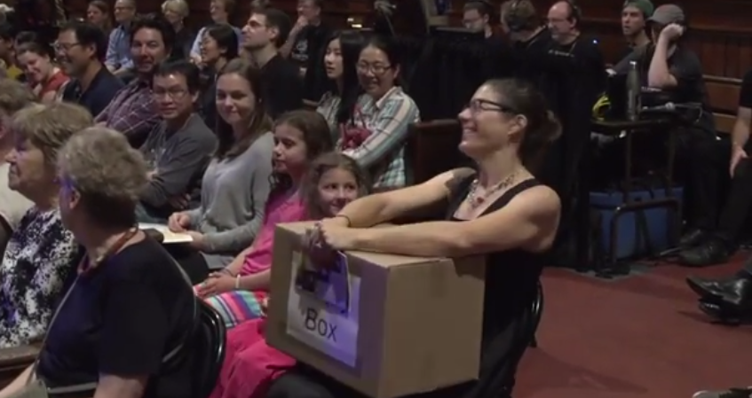 Ig Nobel 2017 - empty box winner