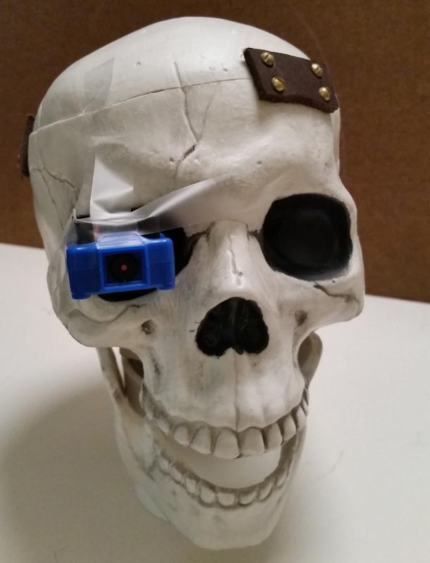 Off-The-Shelf Hacker: Machine Vision Meets the Robotic Skull