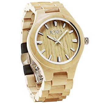 JORD Wooden Wrist Watches for Men or Women - Includes Wood Watch Bo