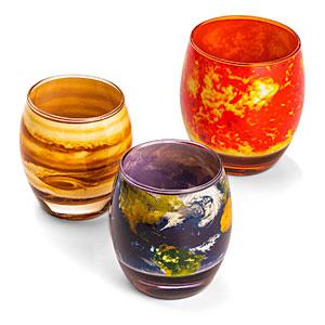 Planetary glass set from ThinkGeek