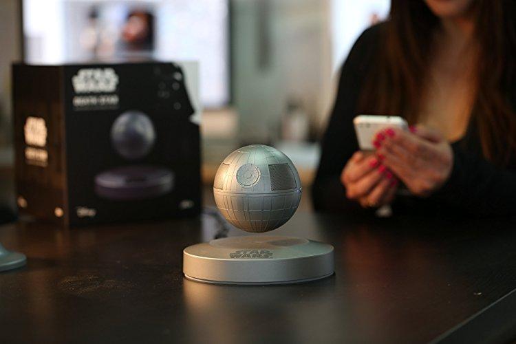 Plox Official Star Wars Levitating Death Star Bluetooth Speake
