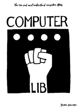 Cover of Computer Lib (1974) by Ted Nelson