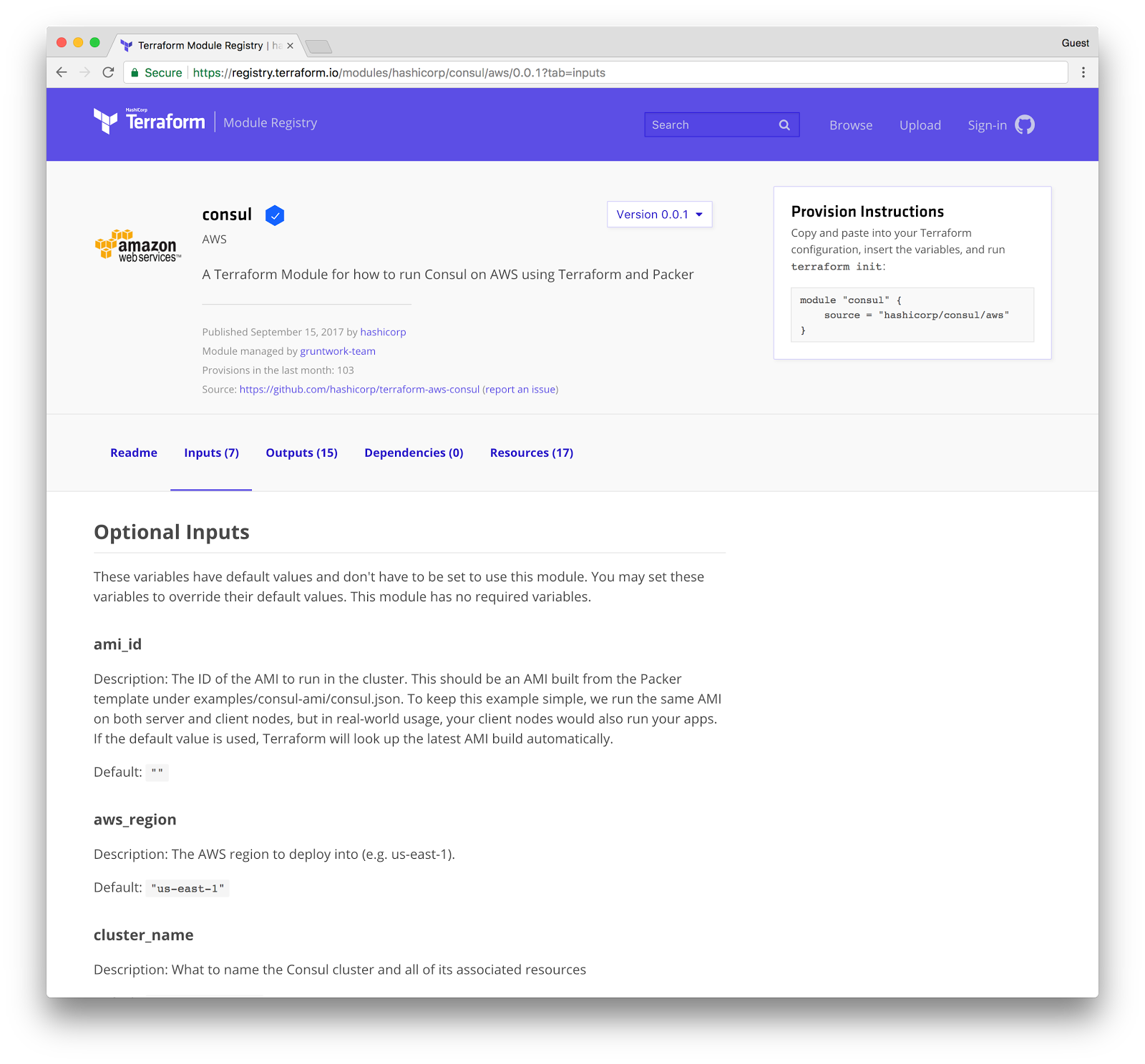 HashiCorp's Terraform Module Registry Provides Self-Service Modules