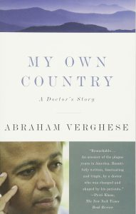 Cover of My Own Country by Abraham Verghese