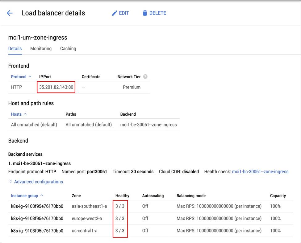 Deploy a Multicluster Ingress on Google Kubernetes Engine