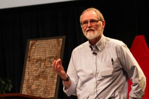 Brian_Kernighan_in_2012_at_Bell_Labs_1 - photo by Ben Lowe via Flickr and Wikipedia