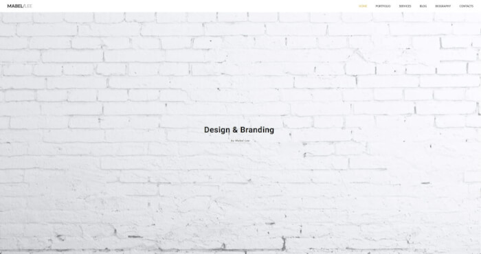A shout out to all the freelance designers and branding specialists to build a jaw-dropping intro-website!