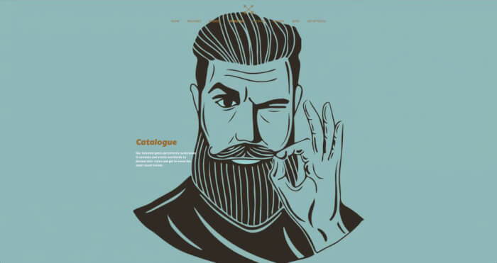 How important an individually picked hair and beard style may be to a man? Same as a right template for your website.