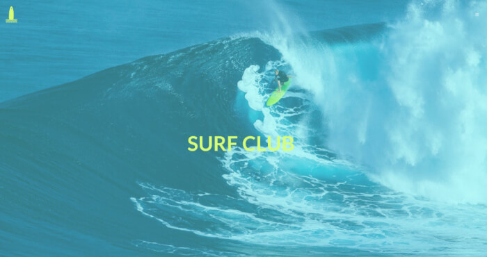 Catch a wave on the ocean and surf through this brand new sports template