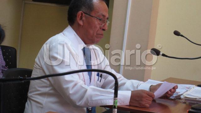 Fiscal Rivera Audiencia Joaquin Ramirez