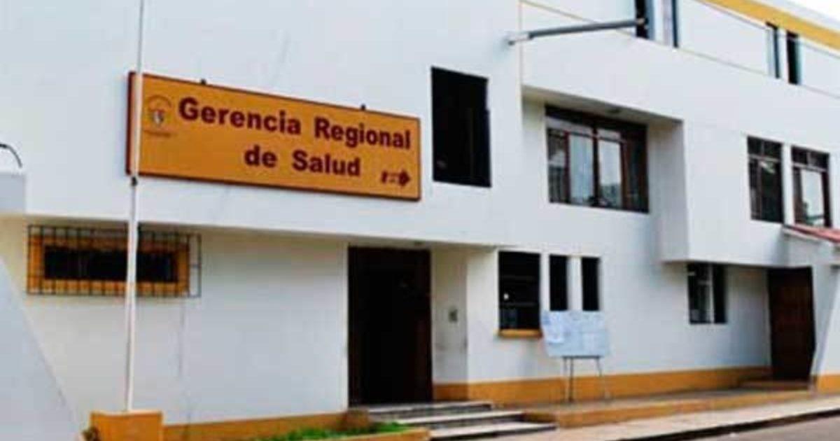 Resultado de imagen de gerencia regional de salud la libertad