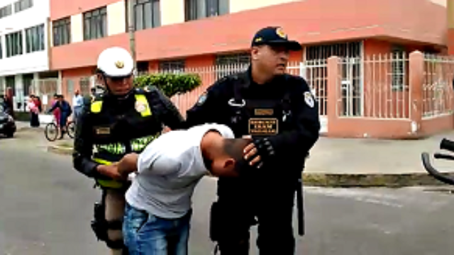 Arrestado Robo Televisores 6
