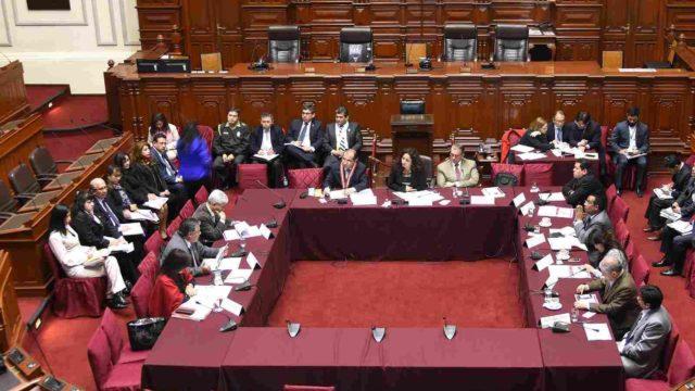 Comision Presupuesto Congreso