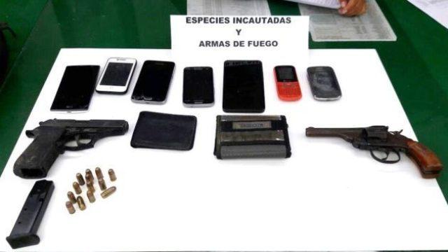 Armas Incautadas Foto Pnp Asalto El Salvador