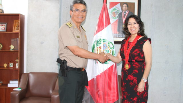 Jefe Policial Y Fiscal Trujillo By Fiscalia