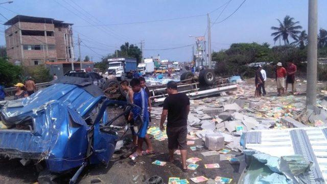 Accidente Via Wasap