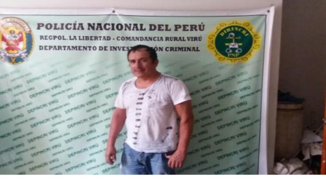 Luis Valverde Chavez Tacho Capturado