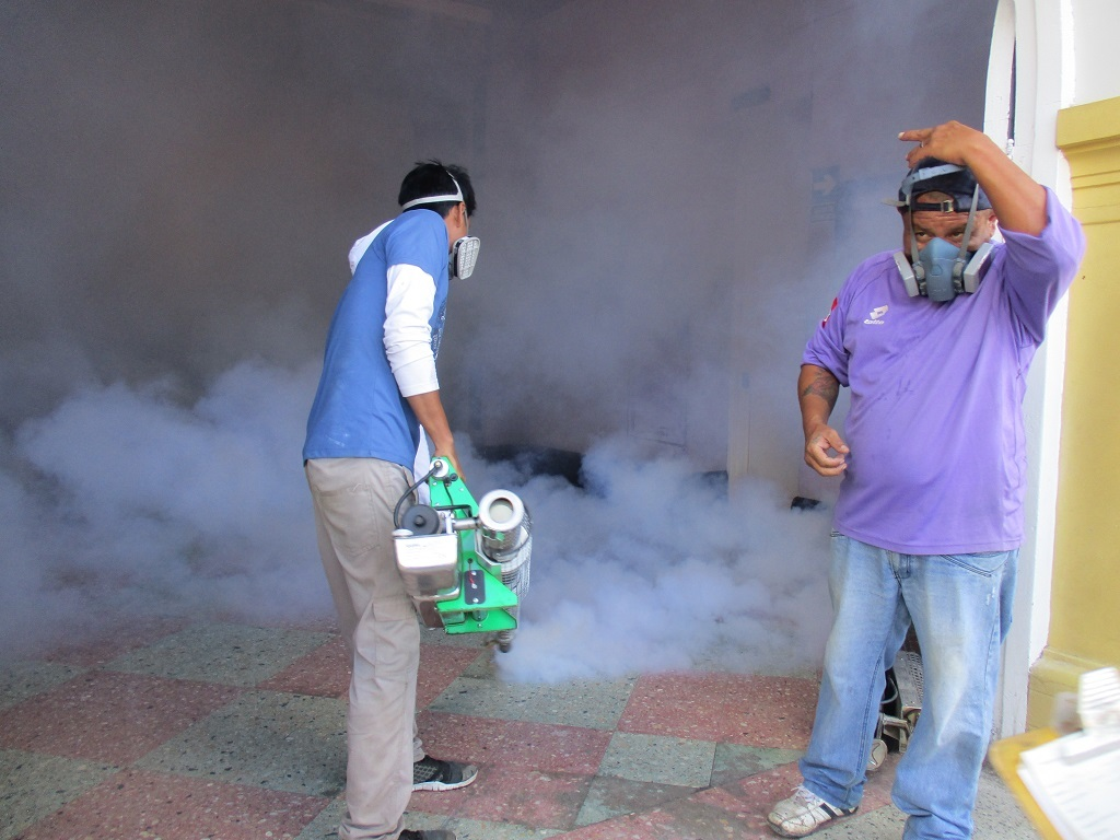 Img 5600  Fumigación Contra Zancudos  Enfermedad Dengue Chepén 2017