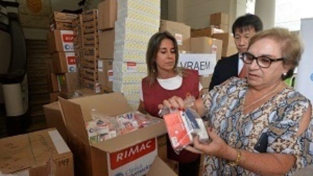 Ministeriodela Mujerlogra Donación Medicinas23Marzo3