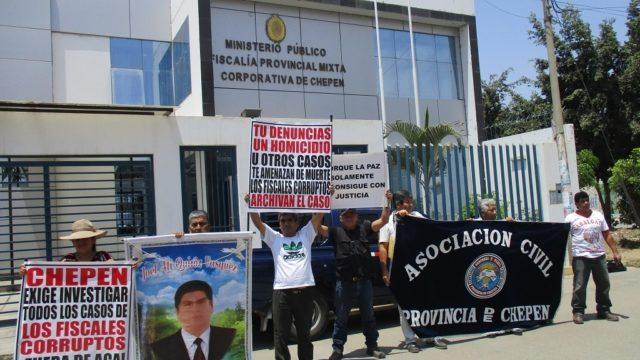 Img 2325  Ministerio Público Fiscalía Provincial Chepén  Protesta Asociación Civil Chepén 2016