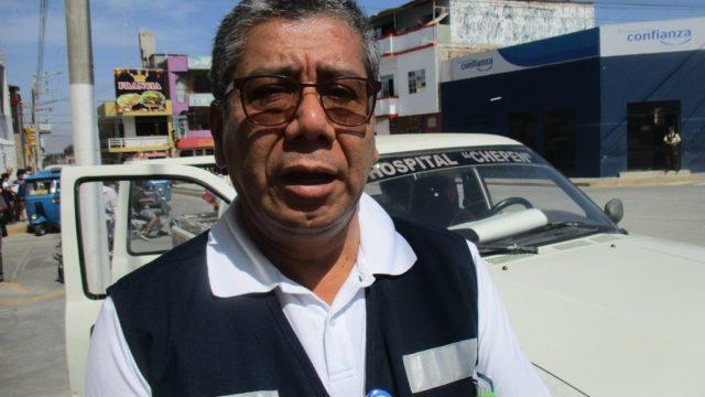 Img 9671  Gerente Regional Salud La Libertad Víctor Alvarado Cáceres  Chepén  Caso Dengue 2017