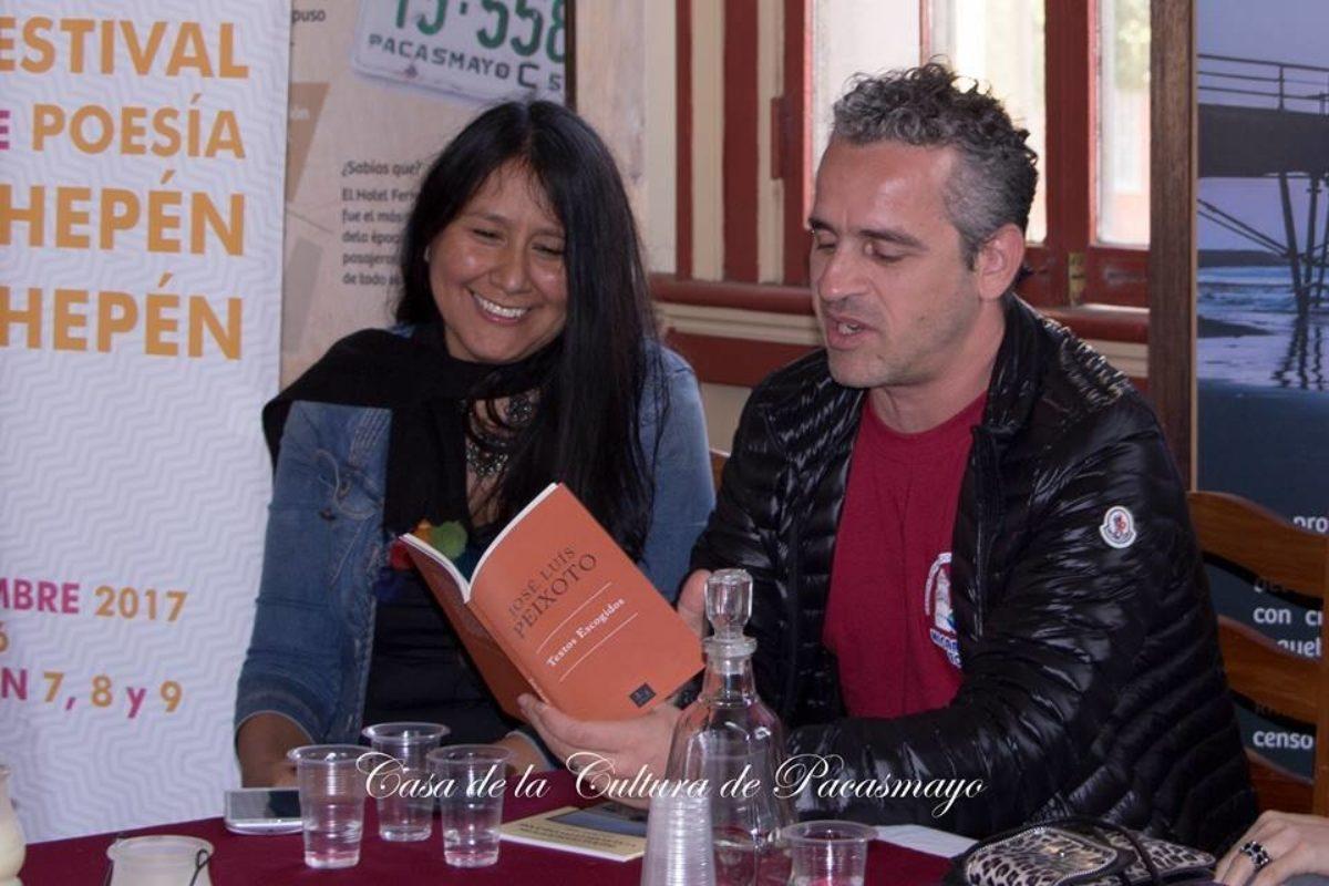 Leda Quintana De Peru Y Jose Luis Peixoto De Portugal