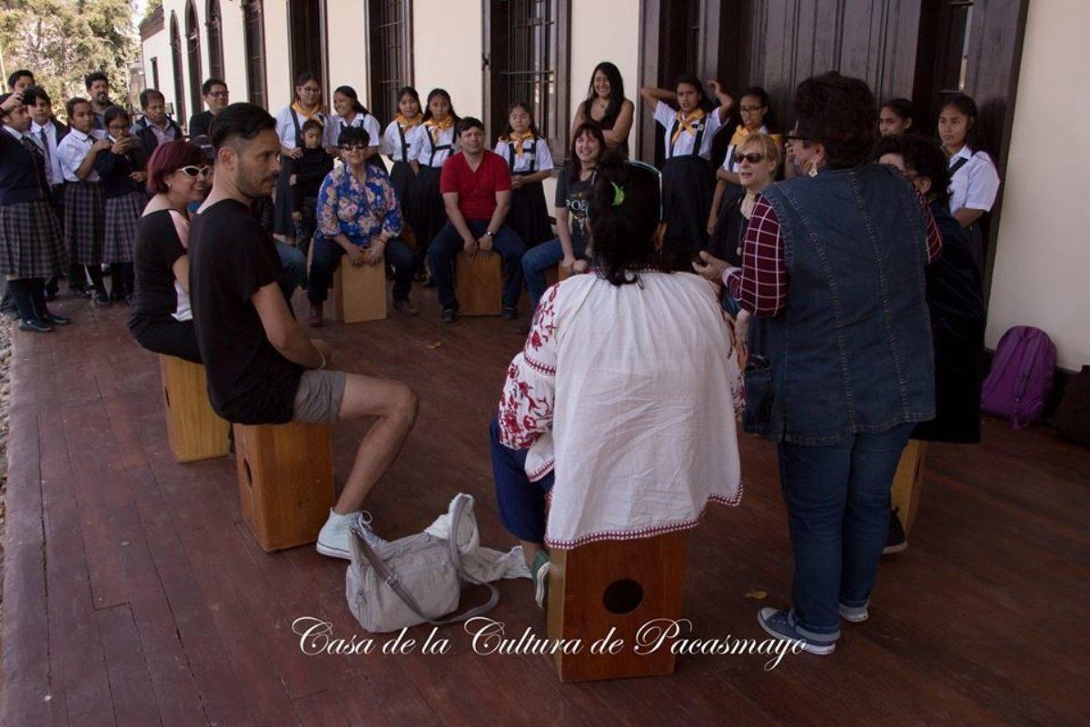 Poetas En Casa De La Cultura Pacasmayo Con Cajon