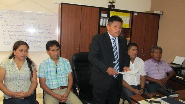 Img 0415  Alcalde Distrito Pacanga Telésforo Medina Ortiz Y Regidores 2015